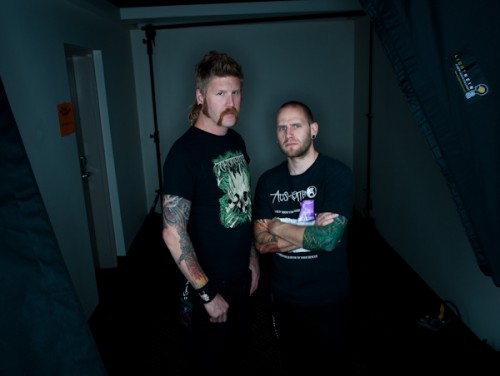 Bill Kelliher of Mastodon with Shane Turgeon